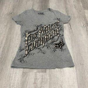 Fox Riders Company V-Neck T-Shirt